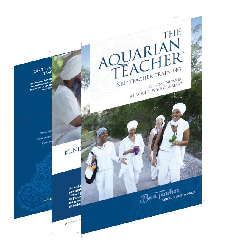 Be a teacher brochure cover